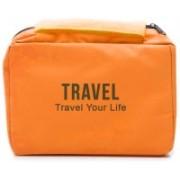 Sphiron Premium Foldable Travel Organizer Pouch(Orange)