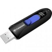 Transcend USB flash disk Transcend JetFlash® 790 TS128GJF790K, 128 GB, USB 3.1, černá, modrá