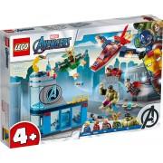 Lego Marvel Super Heroes (76152). L'ira di Loki degli Avengers