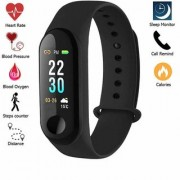 VASA(R-TM) M3 Waterproof Smart Fitness Band Activity Tracker Touch Screen Time Date Heart Rate Monitor Calories Mil