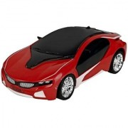 DY 3D Famous Car (Red) Remote Control rechargeable Led light Car