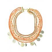 Fashionize Halsketting Beads Coral