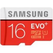 Samsung Evo plus 16 GB MicroSDHC Class 10 80 MB/s Memory Card