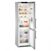 GARANTIE 4 ANI Combina frigorifica Liebherr, clasa A+++, NoFrost, Ice Maker cu rezervor de apa, gri CNef 4825