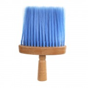 Pamatuf pentru frizerie cu maner din lemn