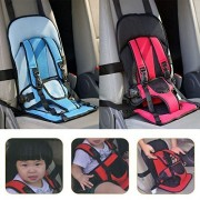 Param Multi-function Adjustable Baby Car Cushion Seat with Safety Belt - For Babies & Toddlers