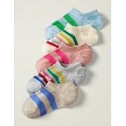 Mini Mehrfarbig Füßlinge im 5er-Pack Mädchen Boden, 37-40, Multi