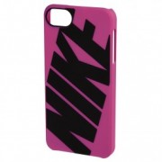 NIKE - CLASSIC Hard Case for iPhone 5/5s - Pink/Black