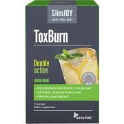 Sensilab SlimJoy ToxBurn Doppelte Wirkung: Körper Entgiftung und Fettverbrennung Mit Mariendistel, Artischocke und Cholin 10-tägige Kur 10 Beutel