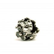 Trollbeads bedel zilver Hortensia TAGBE-10047