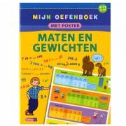 Lobbes Mijn Oefenboek Met Poster: Maten En Gewichten