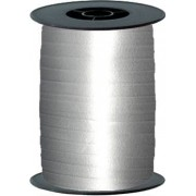 dm_logo Silver Curling Ribbon 10mm x 250m