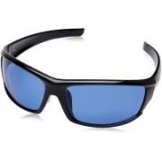 Fastrack Wrap-around Sunglasses(Blue)