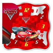 Cars 3 - Puzzle lemn Ceas, 12 piese