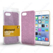 Xprotector Szilikon tok (Diamond) Pink Samsung S8 készülékhez