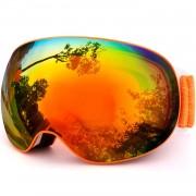 Titan Frameless Orange Mirror Ochelari de Schi