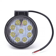 AST Works 1x New 27W LED Work Flood Light Off Road 12v 24v 4x4 Truck Boat SUV Jeep Tractor