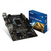 MSI Płyta MSI B250M PRO-VH /B250/DDR4/SATA3/M.2/USB3.0/PCIe3.0/s.1151/mATX