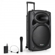 "Ibiza Port15VHF-BT Equipo PA 38cm (15"") USB SD AUX MP3 WMA (BD-Port15VHF-BT)"
