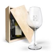 YourSurprise Coffret à vin avec verres - Salentein Chardonnay