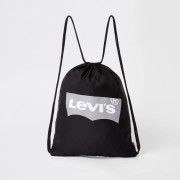 Levi's Mens Kids Black Levi's drawstring bag (One Size)