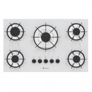 Cooktop Sognare 5 Queimadores Branco - Venax Eletrodomésticos