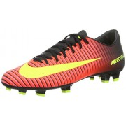 Men's Nike Mercurial Victory IV FG Soccer Cleat Crimson/Volt/Black Size 7 M US