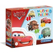My First Puzzle 4in1 Cars Clementoni, 30 piese