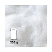 Vata fina pentru filtru de acvariu, alba 250 g