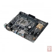Asus H110M-PLUS, Intel H110, VGA by CPU, PCI-Ex16, 2xDDR4, SATA3, VGA/DVI/HDMI/USB3.1, mATX (Socket 1151)