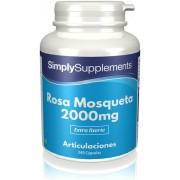Simply Supplements Rosa Mosqueta 2000mg - 240 Cápsulas