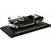 Cadillac convertible limousine Queen Elizabeth II travel to Paris Dwight D. Eisenhower 1959 1 43