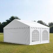 TOOLPORT Partytent 5x5m PVC 500 g/m² wit waterdicht Gartenzelt, Festzelt, Pavillon