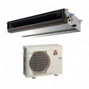 Duct Mitubishi Electric 24000 BTU inverter PEAD-RP71JAQ + PUHZ-ZRP71VKA