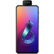 "Telefon Mobil ASUS Zenfone 6 ZS630KL, Procesor Qualcomm® Snapdragon™ 855, IPS capacitiv touchscreen 6.4"", 8GB RAM, 256GB Flash, Camera Duala 48 + 13MP, Wi-Fi, 4G, Dual Sim, Android (Negru)"