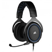 Геймърски слушалки corsair hs50 pro stereo gaming headset, контрол на звука, микрофон, blue, ca-9011217-eu
