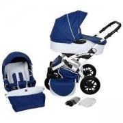 Комбинирана бебешка количка 2 в 1 TUTEK Tambero Blue Eco (AECO2), 133358135