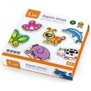 Set animale din lemn magnetice, jucarie educativa, lemn, Viga
