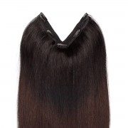 Rapunzel® Extensions Naturali Easy Clip-in Original O1.2/2.0 Black Brown Ombre 50 cm