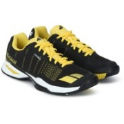Babolat Jet Team All Court M Tennis Shoes For Men(Black, Yellow)