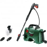 Masina de spalat cu presiune Bosch EasyAquatak 120, 1500 W, 350 l/h, 120 bar, Sistem cu spumă, Negru/Verde, 06008A7901