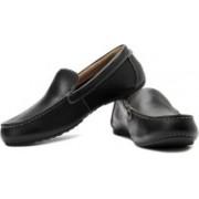 Clarks Marcos Flow Genuine Leather Slip On Shoes For Men(Black)