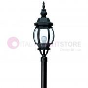 DURALITE SRL Boston Grande Lampione Classico Per Esterni Giardino H.151 Cm