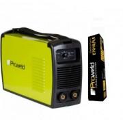 Aparat de sudura Proweld MMA-160PI + 5 kg electrozi rutilici sau bazici