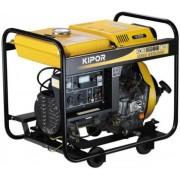 Generator de curent KIPOR KDE 6500 E3, 6 kVa, diesel