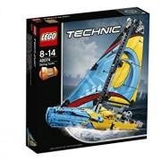 LEGO Technic 2 in 1, Iaht de curse 42074