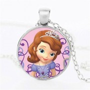 FCS Sofia The First Princess Necklace (Silver)