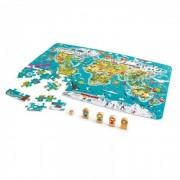 Hape Пазл Карта мира E1626A