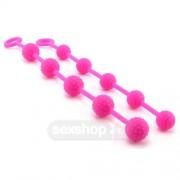 CalExotics Premium Silicone O Beads Pink Set of 2