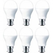 B22 9w LED bulb full Brightness (pack of 6 pieces)